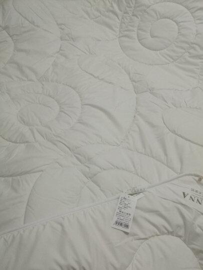 富安娜家纺馨而乐 进口羊毛被子四季被芯床上用品 双人加大 暖绒绒澳洲羊毛春秋被 1米8/2米床(230*229cm) 晒单图