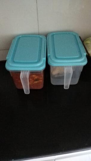 HAIXIN海兴冰箱收纳盒透明塑料密封保鲜盒鸡蛋盒水果食物储物盒带手柄抽屉整理盒 4只装 晒单图