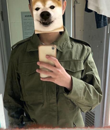 ALPHA INDUSTRIES 阿尔法工业M65风衣可配套内胆美国军迷外套 黑色 S 晒单图