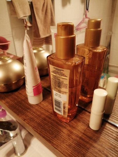 欧莱雅(LOREAL)奇焕润发精油护发素两支惠选套装(所有发质+烫染发质+旅行装赠品)(赠品随机发货) 晒单图