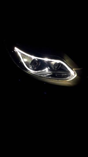 福特全新福克斯大灯总成12-14-15-17-18款改装专用透镜野马日行灯LED泪眼氙气前灯 预约到店安装 晒单图