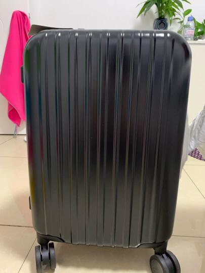 ITO 铝框拉杆箱20英寸旅行箱 商务时尚登机箱行李箱静音万向轮男女密码箱 CLASSIC 黑色磨砂 晒单图