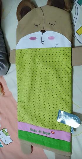 双漫卡通儿童枕套 婴儿枕头套 供换洗 秋香绿 加长号枕套25*56 晒单图