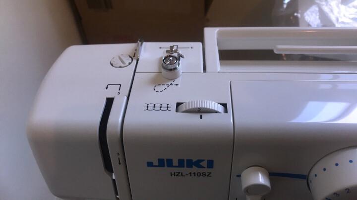 重机 JUKI HZL-110SZ家用多功能缝纫机 晒单图