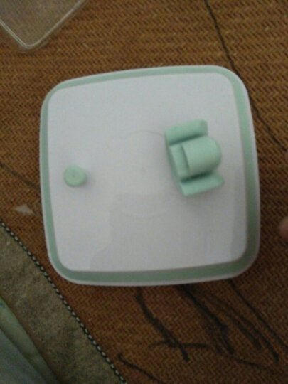 安扣奶粉罐密封罐 大容量 存奶粉盒便携外出 分装坚果密封罐奶粉存储罐 正透2.5L=1100g奶粉 晒单图
