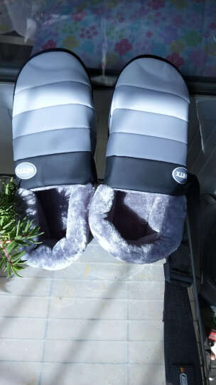 惠夫人 秋冬季棉拖鞋全包跟厚底可爱保暖鞋防滑家居男女情侣棉鞋 五色彩虹全包 黑色 42/43码 适合41/42码 晒单图