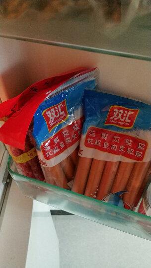 双汇火腿 海鲜风味肠 优级鱼肉火腿肠 速食香肠 40g*10支 晒单图