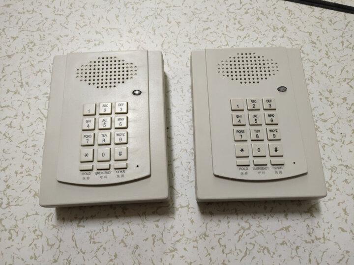 比特(bittel)电话机 HA41T-4E壁挂电话 免提一键紧急呼叫电梯壁挂式座机 HA9888(41)T-4(e)米白色 晒单图