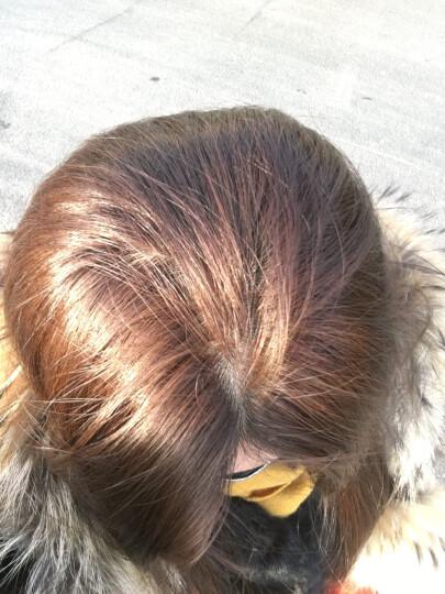 花王(KAO)日本花王泡沫染发剂 liese植物泡泡染发膏 2020流行色蓝黑色茶色纯自己在家染女 还原自然黑 晒单图