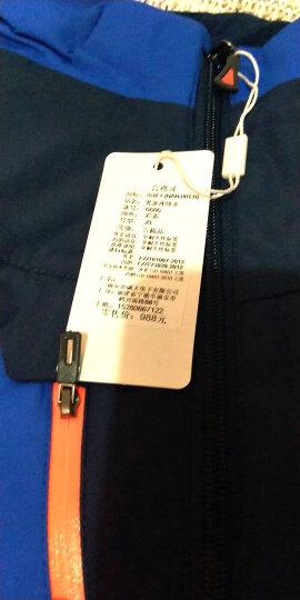 南极人(Nanjiren)冲锋衣裤男女三合一两件套防风防水透气保暖户外登山滑雪服 男军绿色 4XL 晒单图