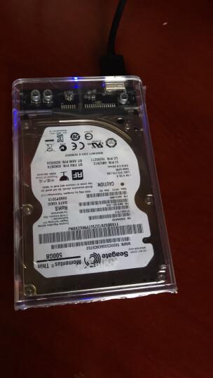 奥睿科(ORICO)移动硬盘盒2.5英寸Type-C SATA串口笔记本硬盘外置壳固态机械ssd硬盘盒子 全透明2139C3 晒单图