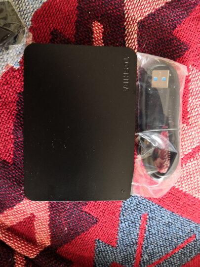 东芝(TOSHIBA)移动硬盘1t USB3.0 A3 2.5英寸黑/白(兼容MAC台式笔记本电脑) 新北极熊 晒单图