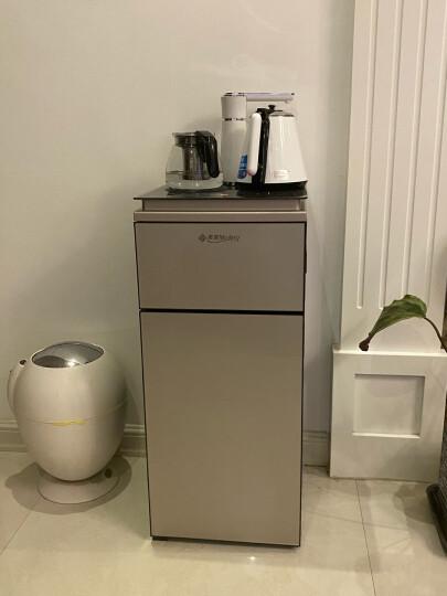 美菱(MeiLing)茶吧机立式饮水机家用多功能智能温热型茶饮机茶水机 【高端升级手机遥控】【烟雨灰冷热款】抢神券减100 晒单图