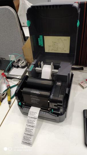 TSC TTP-244 Pro条码打印机二维码标签机 不干胶合格证热敏超市价签标洗水唛水洗标服装吊牌 台半244pro(赠2卷碳带耗材标签) 晒单图