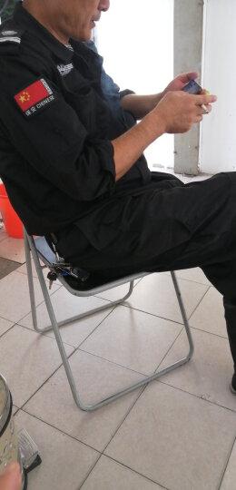 卓伦尚品保安服短袖套装男夏季保安作训服小区物业执勤服保安工作服户外训练服 特长套装【带标志】 180 晒单图