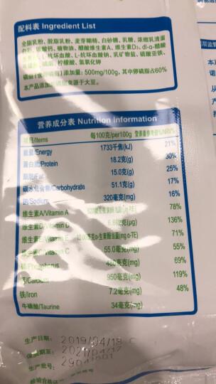 蒙牛 成人奶粉 高钙奶粉 400g 成人奶粉(新旧包装随机发货) 晒单图