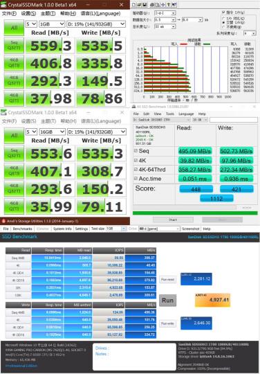 闪迪(SanDisk)加强版 960G 固态硬盘 晒单图