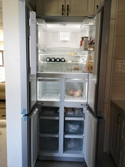 西门子(SIEMENS) 452升 变频混冷十字对开门多门冰箱 零度保鲜(银色) BCD-452W(KM46FA09TI) 晒单图