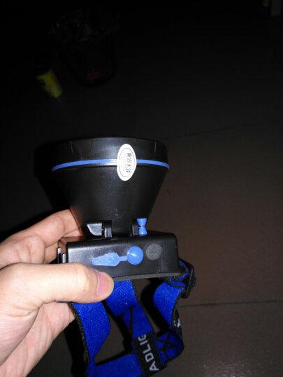 E-smarter强光9900W头灯远射充电超长续航亮防水头戴式LED夜钓手电筒大功率矿灯户外钓鱼灯 蓝光ABS灯头 (20小时版) 晒单图