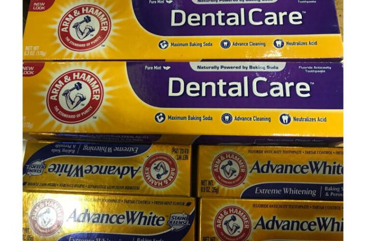 艾禾美(ARM&HAMMER)小苏打牙膏护齿双支装 美国进口去黄护齿含氟去烟渍口腔护理套装 晒单图