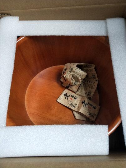 尚田 橡木足浴桶 泡脚木桶 浴足桶 洗脚盆 沐足桶 STT-039双耳浴足桶 不带盖子 晒单图