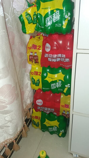 可口可乐 雪碧  柠檬味夏日饮料 汽水【沃尔玛】 300ml*12 晒单图