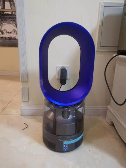 戴森(Dyson) 加湿器 加湿风扇二合一 无叶风扇 加湿杀菌 进口加湿器 静音办公室卧室家用加湿 AM10铁蓝 晒单图
