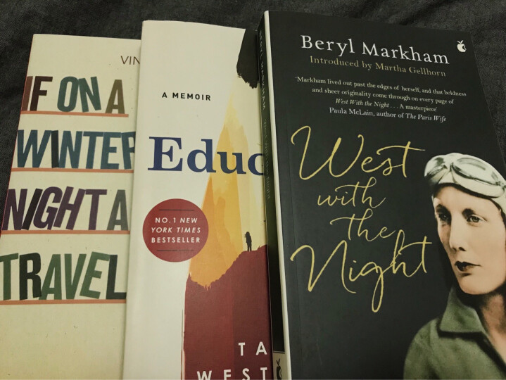 夜航西飞 英文原版 West with the Night Beryl Markham 晒单图