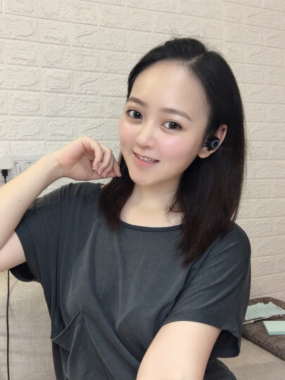 【绿粉蓝白4色】FMJ 真无线蓝牙耳机迷你超小运动适用于华为/苹果/oppo手机通用双耳入耳 F11 经典白(弹窗配对+智能触控) 晒单图