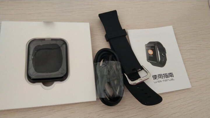 手环 智能运动血压心率男女防水手环手表计步器 小米OPPO华为VIVO三星苹果手机通用 黑色 晒单图