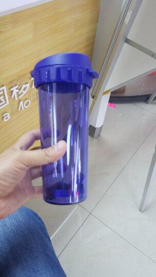 Tupperware特百惠500ML茶韵塑料随心水杯子甜蜜粉 晒单图