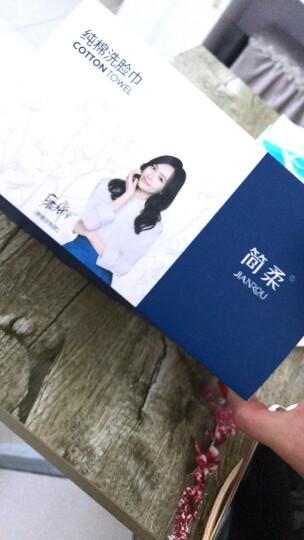 简柔(JianRou)一次性洗脸巾纯棉擦脸巾干湿两用洁面巾(80片) 新款双层包装(新HM-018) 晒单图