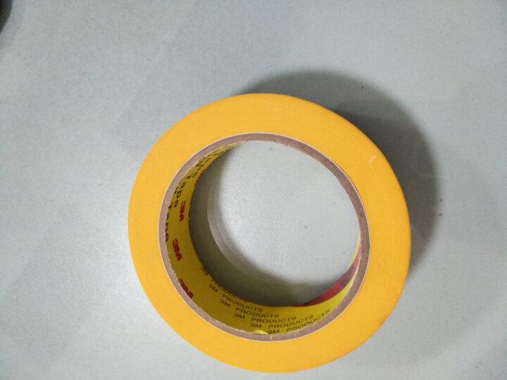 3M 244耐高温美纹纸 和纸胶带 无痕防焊高温美纹纸胶带 60MM*50M(单卷装) 晒单图