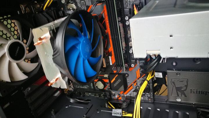 九州风神(DEEPCOOL) 玄冰智能 CPU散热器(风冷/多平台/2热管/预涂导热硅脂/静音风扇) 晒单图