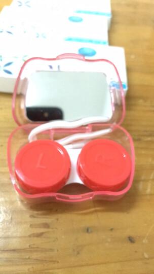 洁达隐形眼镜盒伴侣盒双联盒护理盒 卡通 A-022(图案颜色随机发放) 晒单图