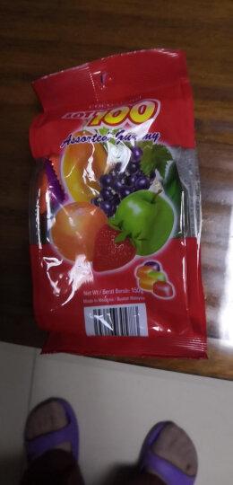 马来西亚进口 一百份 什果果汁软糖 150g 晒单图