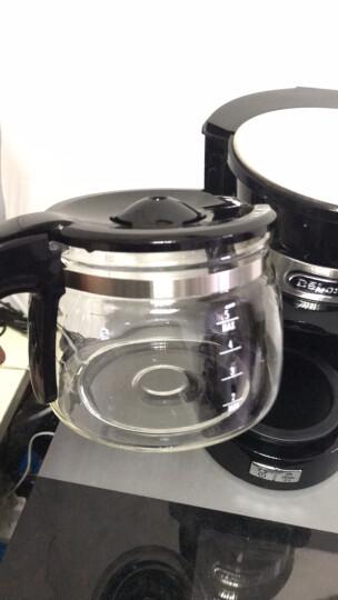 德龙(Delonghi)咖啡机 美式滴漏式咖啡壶 家用迷你半自动咖啡机 ICM14011.W(白色) 晒单图