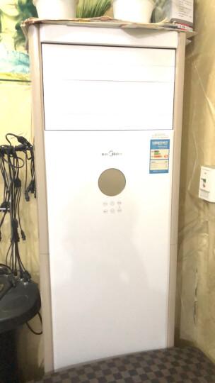 美的(Midea)2匹 三级能效 智能变频冷暖 立柜式 客厅空调柜机 KFR-51LW/WPBA3@ 晒单图
