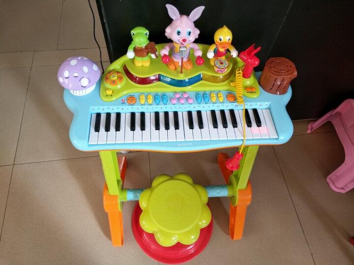汇乐玩具 儿童电子琴玩具趣味演奏组合小女孩男宝宝钢琴初学琴669 晒单图