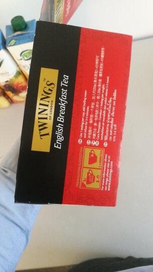 英国川宁(TWININGS) 经典红茶 进口早餐茶 茶叶袋泡茶包50包*2g 晒单图