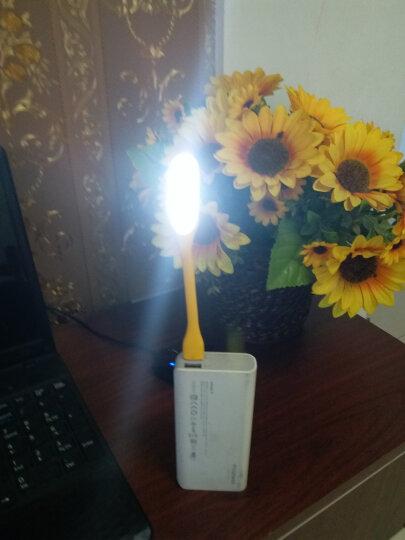 翰光HG USB小夜灯 LED随身灯电脑护眼 阅读小台灯饵灯野营灯一个(颜色随机) 晒单图