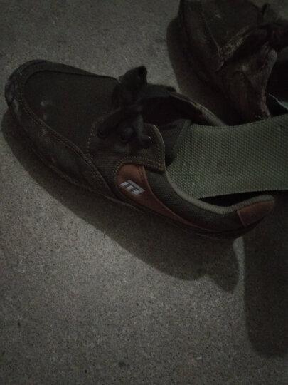 TF1137 春秋低帮黑作训鞋06训练鞋军鞋迷彩胶鞋徒步鞋男解放劳保鞋慢跑鞋帆布鞋 JQ1601黑色 42/260 晒单图