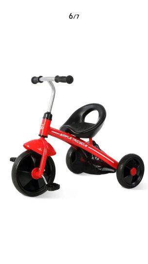 好孩子(gb) 儿童三轮车男童女童1-2-3岁童车女宝宝玩具车幼儿幼童小孩小童脚踏车男 红色 晒单图