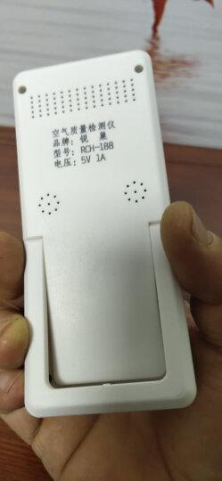 锐巢 测甲醛检测仪器 干湿度温度空气检测仪器盒家用测试仪(经典版) 晒单图
