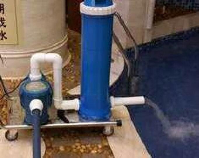 爱克(AQUA) AQUA/爱克 游泳池吸污机 纸芯过滤清洁 鱼池景观池高效水下吸尘器 水处理 F400 晒单图