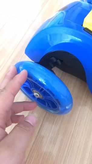 迪士尼(Disney)儿童滑板车小孩 闪光滑步车摇摆车 可折叠升降宝宝平衡车脚踏车 米奇 晒单图