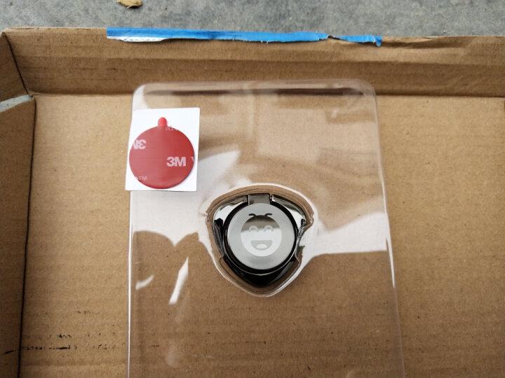 手机指环扣金属车载磁吸支架背贴手环扣 适用于iphone/ipad/oppo 表情指环扣(玫瑰金) 晒单图