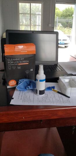 宜客莱(ECOLA)电脑清洁套装 液晶屏清洁工具 多功能 多用途(清洁液+清洁刷+清洁布+清洁湿巾)CD-EL135 晒单图