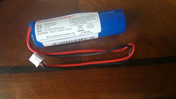 RYDBATT 3.7V唱戏机电池18650电池组7.4V扩音器大容量钓鱼灯视频播放机小音箱充电电池 ②号\3.7V唱戏机【5200mAh】 晒单图