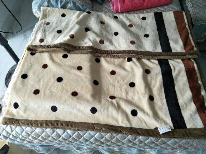天池茗品毛毯被夏季加厚珊瑚绒毯子薄垫床单人双人盖毯办公室夏学生小儿童毛毯垫四季夏天 花型款式随机发货 180*200cm加厚款380克/平方 晒单图